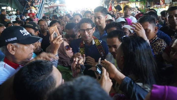 Sandiaga Uno Tebar Janji Permodalan untuk UMKM di Banten