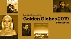 INFOGRAFIS: Prediksi Pemenang Golden Globes 2019 Bidang Film