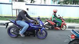 VIDEO: Hasil Tes Yamaha R25 di Jalan Jakarta