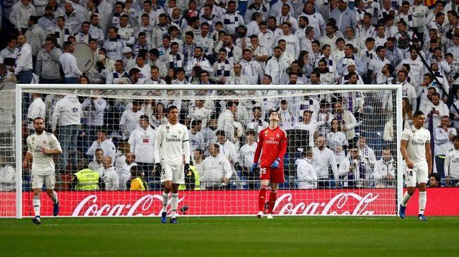 Salah Asuh Real Madrid