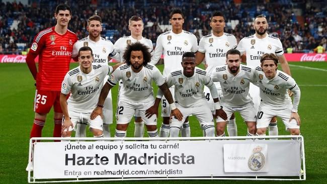 Real Madrid menjamu Real Sociedad di Santiago Bernabeu dengan kondisi penuh percaya diri. (REUTERS/Juan Medina)
