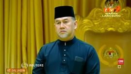 VIDEO: Raja Malaysia Turun Tahta