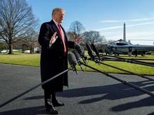 Demi Loloskan Dana Tembok Batas, Trump Sebut AS Alami Krisis