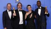 Film 'Green Book' menjadi pemenang utama dalam Golden Globe Awards 2019 dengan tiga piala Golden Globe Awards 2019. (REUTERS/Mario Anzuoni)