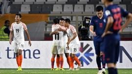 Piala Asia 2019: Thailand Dibantai India