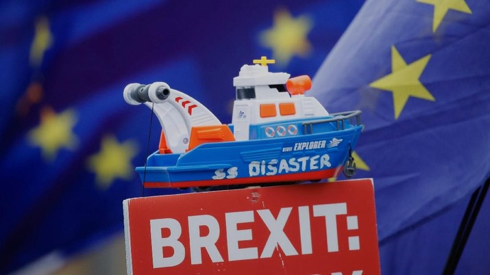 Gegara Ekonomi Dunia & Brexit, PDB Inggris Melambat Lagi