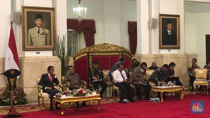 Jokowi Sebut Ekonomi 2018 Positif di Tengah Ketidakpastian