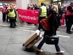 Pegawai Mogok Kerja, Bandara Berlin Batalkan 80 Penerbangan