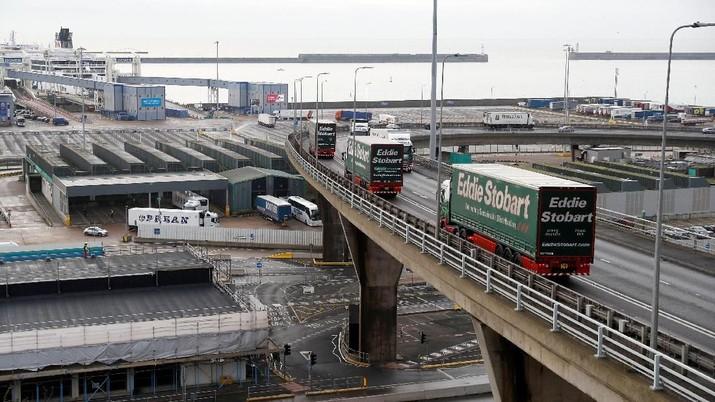 Kisruh Brexit, Inggris Uji Coba Jalur Pelabuhan Baru
