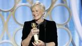 Glenn Close sempat tak percaya dirinya membawa pulang kategori Best Actress - Motion Picture, Drama atas perannya di 'The Wife'. (Paul Drinkwater/NBC Universal/Handout via REUTERS)