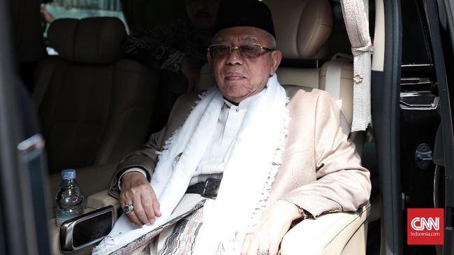 Ma'ruf Doakan Ani Yudhoyono: Mudah-Mudahan Diberi Kesehatan
