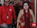 Megawati dan Puan Kompak Bungkam Saat Tiba di Lokasi Debat