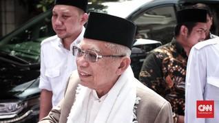 Ma'ruf Amin Disebut Pernah Usul ke Jokowi Bebaskan Ba'asyir