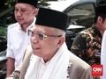 Ma'ruf Tuding Ada Dajal Pembohong Ciptakan 'Tsunami' Hoaks
