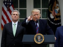 Demi Tembok Perbatasan, Trump Takut-takuti Warga AS