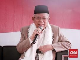 Ma'ruf Amin Singgung Hak Ahok untuk Bebas dari Penjara