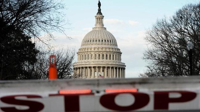 Alhasil, sebagian kementerian dan lembaga pemerintah AS tutup dan menghentikan layanan. (REUTERS/Joshua Roberts/File Photo)
