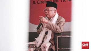 Ma'ruf Soal Warga Percaya Jokowi PKI dan Anti-Islam: Oon Ente