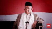 Ma'ruf Amin soal Debat Jokowi: Beliau Lebih Tahu Dari Saya