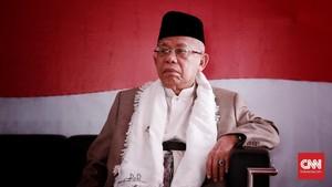 100 Hari Kerja Jokowi, Ma'ruf Jago Kandang dan Tak Menonjol