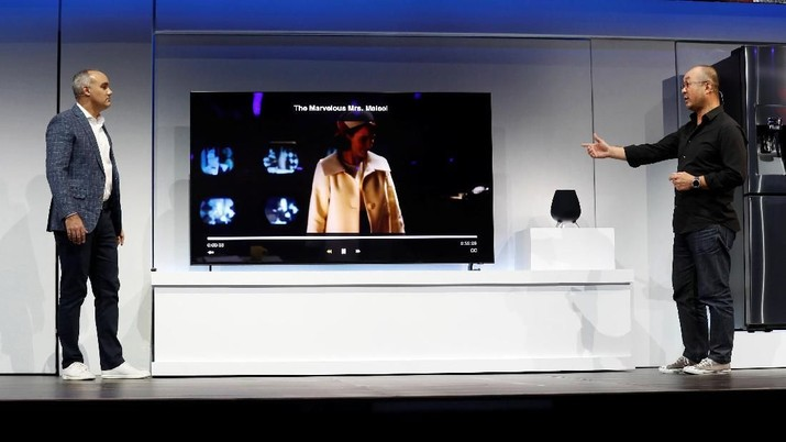 CES 2019 Jadi Medan Tempur Produsen TV: Samsung Vs LG