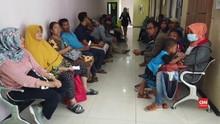 Khawatir Virus Corona, Banyak Orang Tua Antre Vaksin di RS