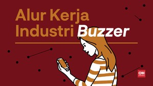 VIDEOGRAFIS: Alur Kerja Industri Buzzer