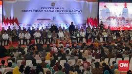 Soal Bagi Sertifikat Tanah, AMAN Tuding Jokowi Neo-Liberal