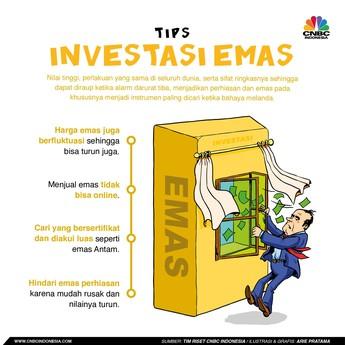 Emas, Pilihan Investasi Aman Sejak Dahulu Kala