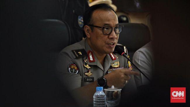Kondisi Empat Polisi Ditusuk Terduga Teroris Mulai Membaik