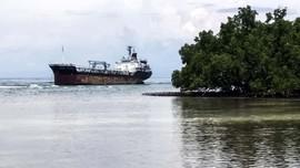 Ditabrak Kapal Tanker,  Terumbu di Selat Pantar Diduga Rusak