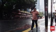 Jabodetabek Dilanda Hujan-Angin Kencang Sampai Kamis Siang