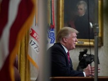 Walk Out dari Rapat Tembok Batas, Trump: Buang-buang Waktu!