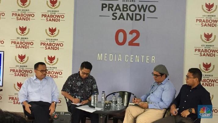 Janjikan Perubahan, Ini 8 Fokus Ekonomi Prabowo-Sandi