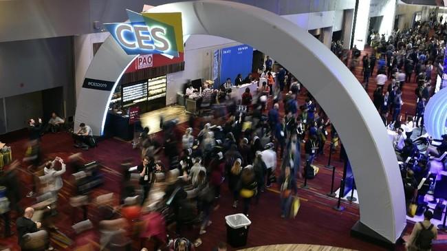 Pameran teknologi terbesar Consumer Electronic Show kembali digelar di Las Vegas Convention Center, AS pada 8-11 Januari 2019.(David Becker/Getty Images/AFP)