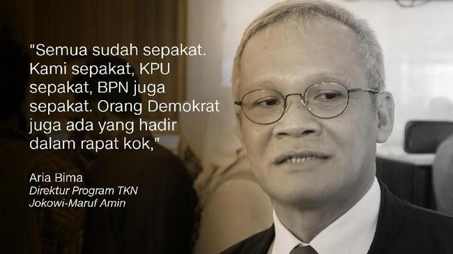 Direktur Program TKN Jokowi-Maruf Amin, Aria Bima.
