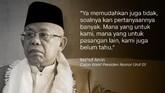 Calon Wakil Presiden Nomor Urut 01, Ma'ruf Amin.