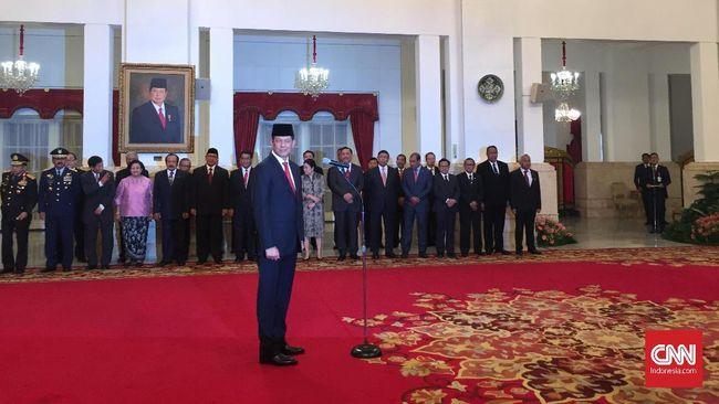 Jokowi Resmi Lantik Doni Monardo Jadi Kepala BNPB