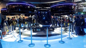 FOTO: 'Balapan' Teknologi Otomotif di CES 2019