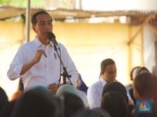 Jokowi ke Emak-emak: Dapat Modal Jangan Dibelikan HP