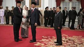 Jokowi: Banyak Pekerjaan Besar Menanti Letjen Doni di BNPB