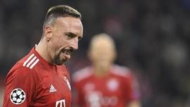 Ribery Enggan Jadi Pesaing Ronaldo di Liga Italia