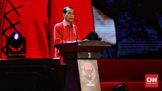 Jokowi soal Setop Pidato Sesaat: Ada Azan, Masa Enggak Dengar