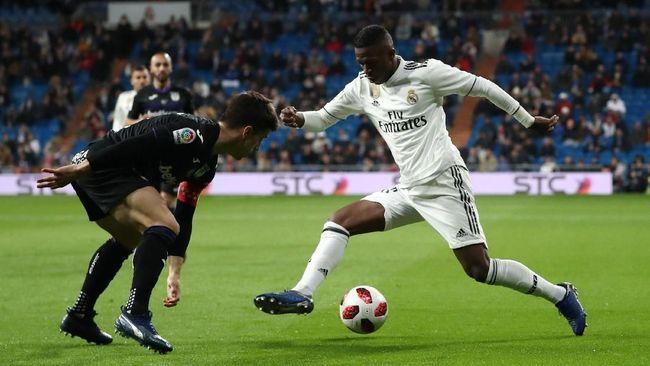 Vinicius Ingin Rebut Nomor 11 Milik Gareth Bale