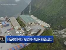Freeport Investasi USD 1,4 Miliar di Tambang Grasberg
