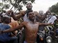 FOTO: Sukacita Kelompok Oposisi Usai Menang di Pilpres Kongo