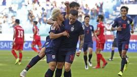 Thailand Kalahkan Bahrain di Piala Asia 2019