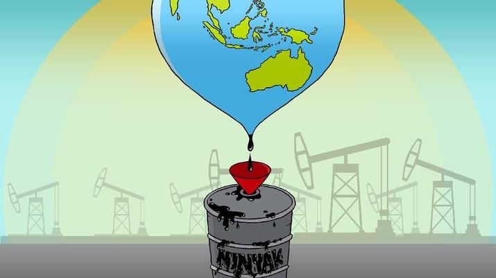Harga Minyak Mentah Indonesia atau Indonesian Crude Price (ICP) tercatat mengalami kenaikan pada Januari 2019 menjadi US$ 56,55 per barel.