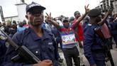 Felix Tshisekedi adalah anak dari Etienne Tshisekedi, yang merupakan tangan kanan pemimpin Kongo sebelumnya, Mobutu Sese Seko. (REUTERS/Baz Ratner)
