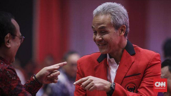 Ganjar Yakin Megawati Siapkan Regenerasi Kepemimpinan di PDIP
